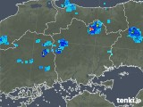 2019年08月21日の岡山県の雨雲の動き