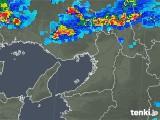 2019年08月23日の大阪府の雨雲の動き