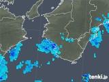 2019年08月23日の和歌山県の雨雲の動き