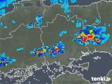 2019年08月23日の岡山県の雨雲の動き