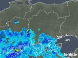 2019年08月24日の岡山県の雨雲の動き