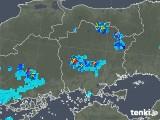 2019年08月25日の岡山県の雨雲の動き