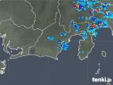 2019年08月26日の静岡県の雨雲の動き