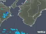 2019年08月26日の和歌山県の雨雲の動き