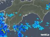 2019年08月26日の高知県の雨雲の動き