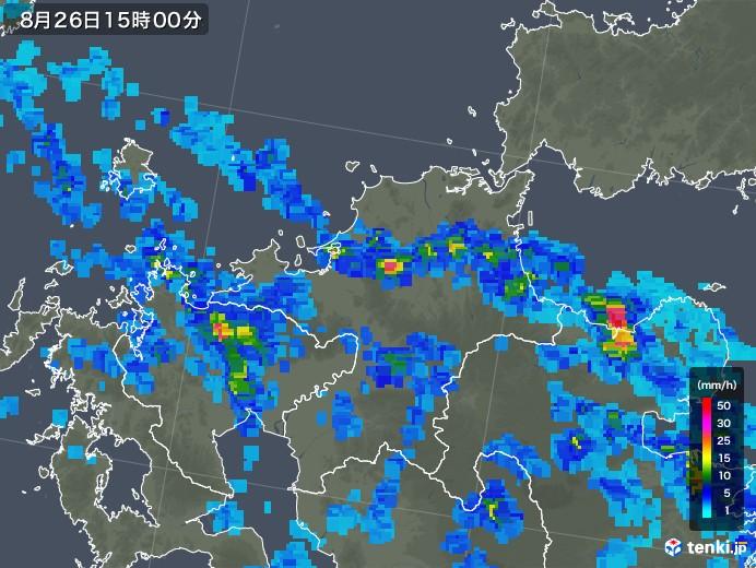 雨雲 レーダー 福岡 気象庁 ナウキャスト(雨雲の動き・雷・竜巻)