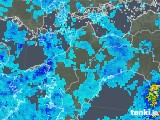 2019年08月27日の愛媛県の雨雲の動き