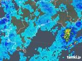 2019年08月27日の高知県の雨雲の動き