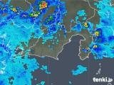 2019年08月28日の静岡県の雨雲の動き
