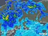 2019年08月28日の岡山県の雨雲の動き