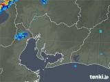 2019年08月29日の愛知県の雨雲の動き