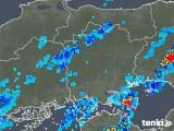 2019年08月29日の岡山県の雨雲の動き