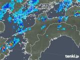 2019年08月29日の愛媛県の雨雲の動き