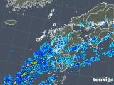 2019年08月30日の九州地方の雨雲の動き