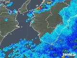 2019年08月30日の和歌山県の雨雲の動き