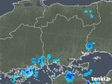 2019年08月30日の岡山県の雨雲の動き