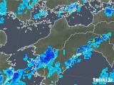 2019年08月30日の愛媛県の雨雲の動き