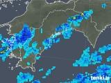 2019年08月30日の高知県の雨雲の動き