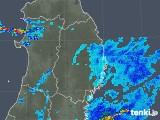 2019年08月30日の岩手県の雨雲の動き