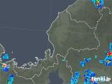2019年09月05日の福井県の雨雲の動き