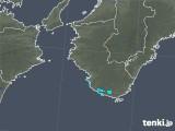 2019年09月15日の和歌山県の雨雲レーダー
