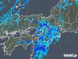 2019年10月03日の近畿地方の雨雲レーダー