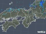 2019年10月04日の近畿地方の雨雲レーダー