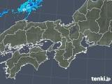 2019年10月05日の近畿地方の雨雲レーダー