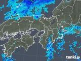 2019年10月07日の近畿地方の雨雲レーダー