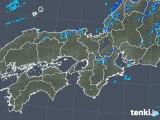 2019年10月08日の近畿地方の雨雲レーダー
