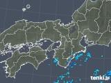 2019年10月10日の近畿地方の雨雲レーダー