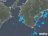 2019年10月10日の和歌山県の雨雲レーダー