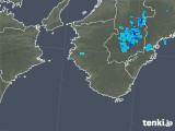2019年10月11日の和歌山県の雨雲レーダー