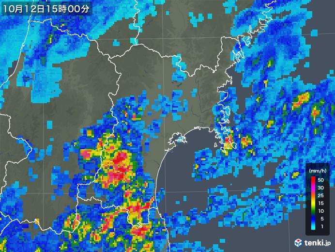 雨雲 レーダー 市原