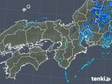 2019年10月14日の近畿地方の雨雲レーダー