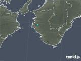 2019年10月16日の和歌山県の雨雲レーダー
