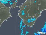 2019年10月17日の和歌山県の雨雲レーダー