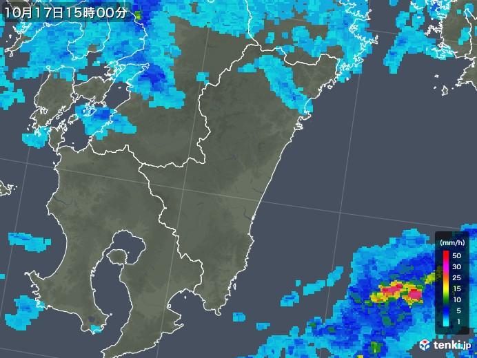 宮崎 雨雲 レーダー