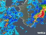 2019年10月18日の和歌山県の雨雲レーダー