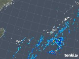 2019年10月19日の沖縄地方の雨雲レーダー