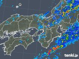2019年10月19日の近畿地方の雨雲レーダー