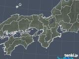 2019年10月20日の近畿地方の雨雲レーダー