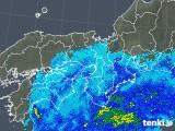 2019年10月21日の近畿地方の雨雲レーダー