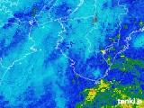 2019年10月21日の和歌山県の雨雲レーダー
