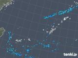 2019年10月29日の沖縄地方の雨雲レーダー