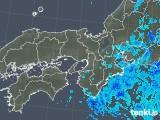 2019年10月29日の近畿地方の雨雲レーダー