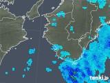 2019年10月29日の和歌山県の雨雲レーダー