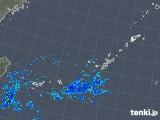 2019年10月30日の沖縄地方の雨雲レーダー