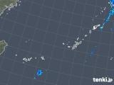 2019年12月16日の沖縄地方の雨雲レーダー