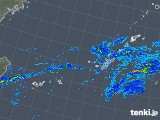 2019年12月20日の沖縄地方の雨雲レーダー
